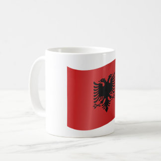 Albania Flag Coffee Mug