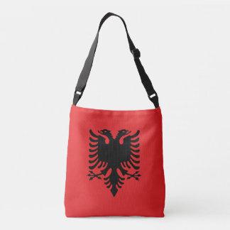 Albania Flag Crossbody Bag