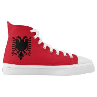 Albania Flag High Tops
