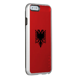 Albania Flag Incipio Feather® Shine iPhone 6 Case