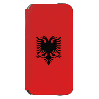 Albania Flag Incipio Watson™ iPhone 6 Wallet Case