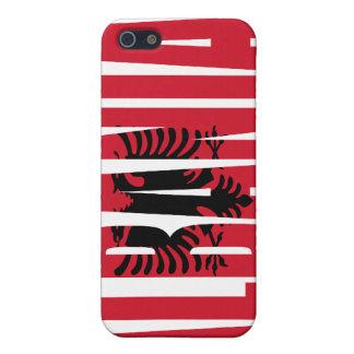 Albania Flag iPhone 4 case