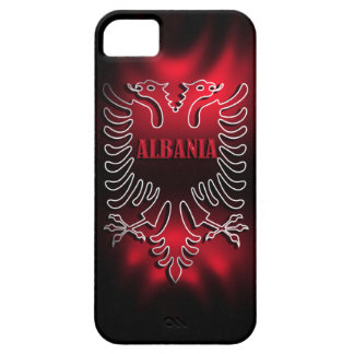 Albania Flag Iphone 5 Case-Mate Case