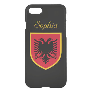 Albania Flag iPhone 7 Case