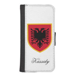 Albania Flag iPhone SE/5/5s Wallet Case