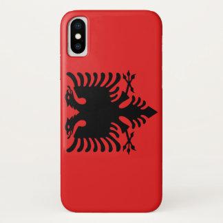 Albania Flag iPhone X Case