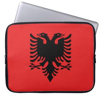 Albania Flag Laptop Sleeve