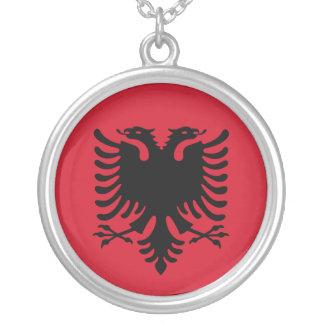 Albania Flag Necklace
