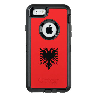 Albania Flag OtterBox iPhone 6/6s Case