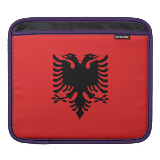 Albania Flag Sleeve For iPads