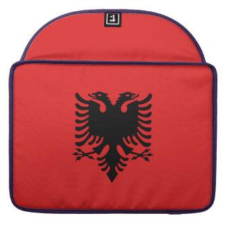 Albania Flag Sleeve For MacBook Pro