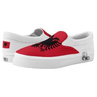 Albania Flag Slip-On Shoes