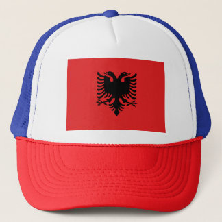Albania Flag Trucker Hat