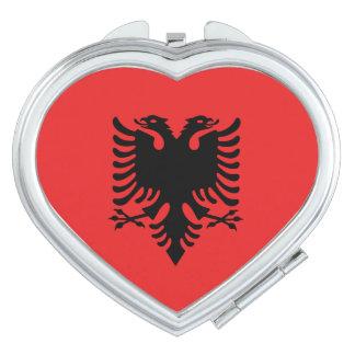 Albania Flag Vanity Mirror