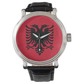 Albania Flag Watch