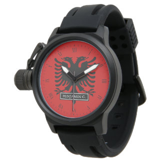 Albania Flag Watches