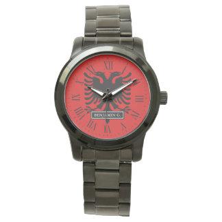 Albania Flag Wristwatch