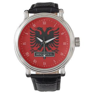 Albania Flag Wristwatches