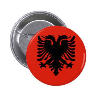 Albania High quality Flag 6 Cm Round Badge