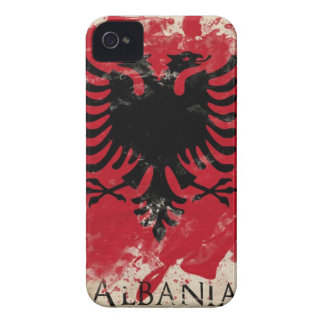 Albania iPhone 4 Case-Mate Cases