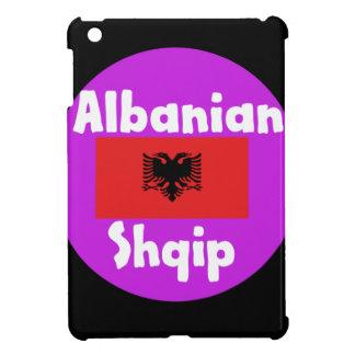 Albania Language And Flag Design iPad Mini Cover
