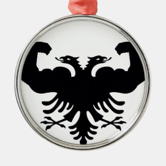 Albania Metal Ornament
