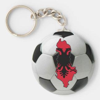 Albania national team basic round button key ring