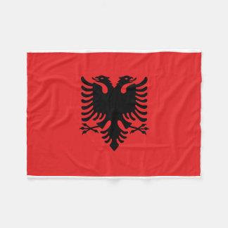 Albania National World Flag Fleece Blanket
