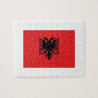 Albania National World Flag Jigsaw Puzzle