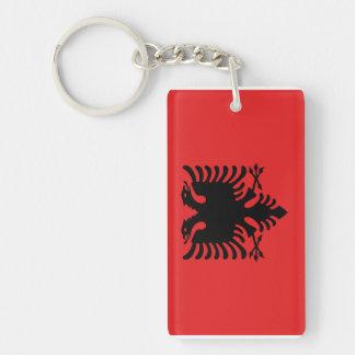 Albania National World Flag Key Ring