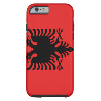 Albania National World Flag Tough iPhone 6 Case