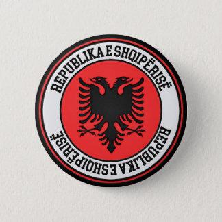 Albania Round Emblem 6 Cm Round Badge