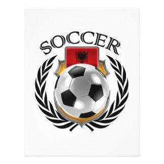 Albania Soccer 2016 Fan Gear 21.5 Cm X 28 Cm Flyer