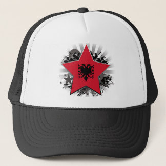 Albania Star Trucker Hat