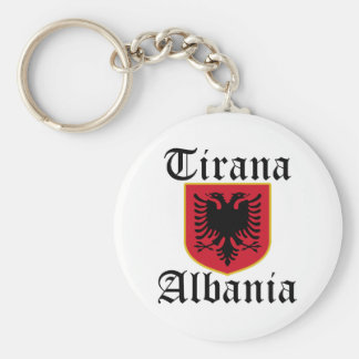 Albania Tirana Coat of Arms Key Ring