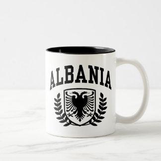 Albania Two-Tone Coffee Mug