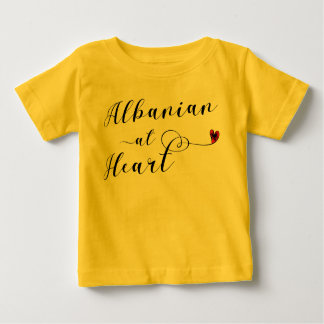 Albanian At Heart Tee Shirt, Albania