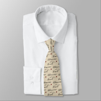 Albanian At Heart Tie, Albania Tie
