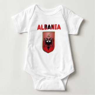 Albanian Coat of arms Baby Bodysuit