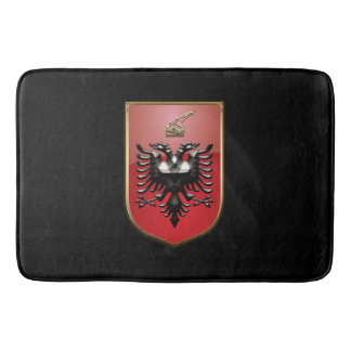 Albanian Coat of arms Bath Mats