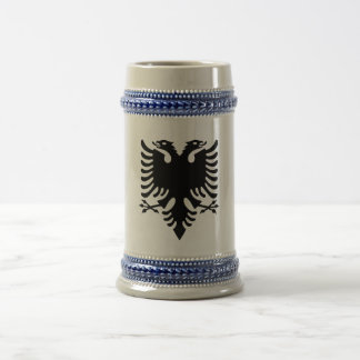 Albanian Coat of arms Beer Stein