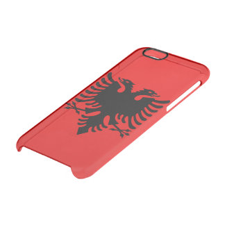 Albanian Coat of arms Clear iPhone 6/6S Case