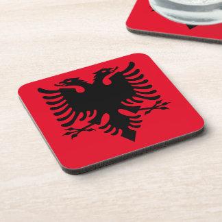 Albanian Coat of arms Coaster