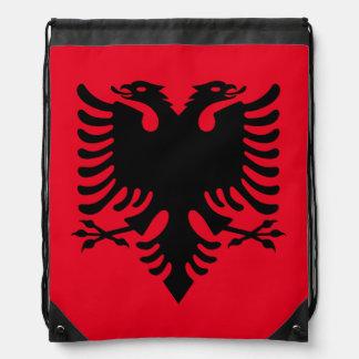 Albanian Coat of arms Drawstring Bag