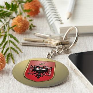 Albanian Coat of arms Key Ring