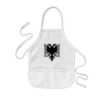 Albanian Coat of arms Kids Apron