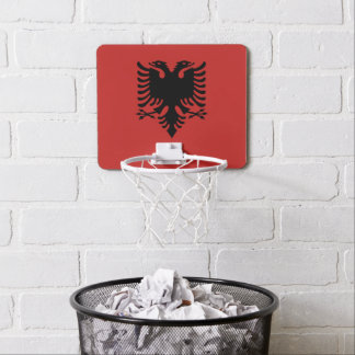 Albanian Coat of arms Mini Basketball Hoop