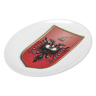 Albanian Coat of arms Party Plates
