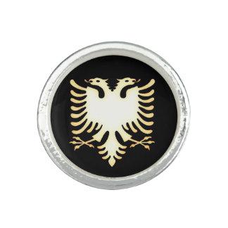 Albanian eagle ring