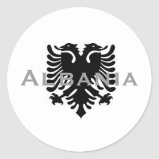 Albanian Eagle Sticker 2